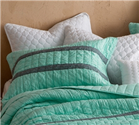Softest Queen sized bedding Shams Yucca - Elegant yucca bedding pillow shams to add extra soft
