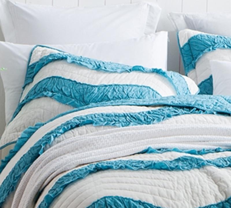 Two Tone King Sized Bedding Shams Off White Softest Sham Sets Size