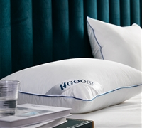 HGOOSE - Triple Chamber Hungarian Goose Down Pillow Standard