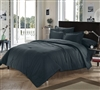 Chino Black Full Comforter Oversized Full XL Bedding Bedroom Decor Full Bedding