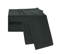 Chino Black Twin XL Sheets Extra Long Twin Bedding Extra Long Twin Sheets