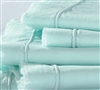Hint of Mint Eyelash Textured Bedding Sheet Sets in King