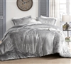 Coma Inducer Oversized Twin Comforter - Velvet Crush - Champagne Alloy