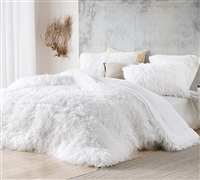 The Bare Himalayan Yeti - Coma Inducer Oversized Comforter - Pure White