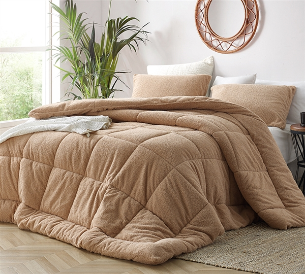 Oh Sweetie - Coma Inducer Queen Comforter - Toasted Almond
