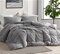 Oh Sweetie Bare - Coma Inducer Twin XL Comforter - Alloy