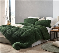 Grown Man Stuff - Coma Inducer Full Comforter - Kombu Green