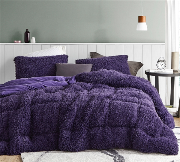 Queen of Sleep - Coma Inducer Oversized Comforter - Purple Reign