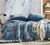 Aww Buddy - Coma Inducer Oversized Twin Comforter - Dark Denim
