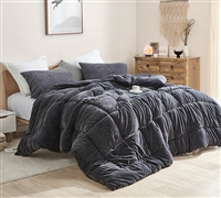 Softy Smooth - Coma Inducer Twin XL Comforter - Bunny Black