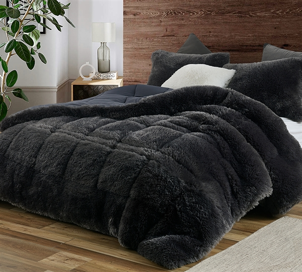 F-Bomb - Coma Inducer Oversized Comforter - Faded Black