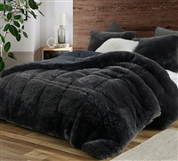 F-Bomb - Coma Inducer Oversized Queen Comforter - Faded Black