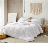F-Bomb - Coma Inducer Oversized Twin Comforter - Pure White