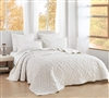 Bare Bottom Velvet Crush Full Quilt - Farmhouse White