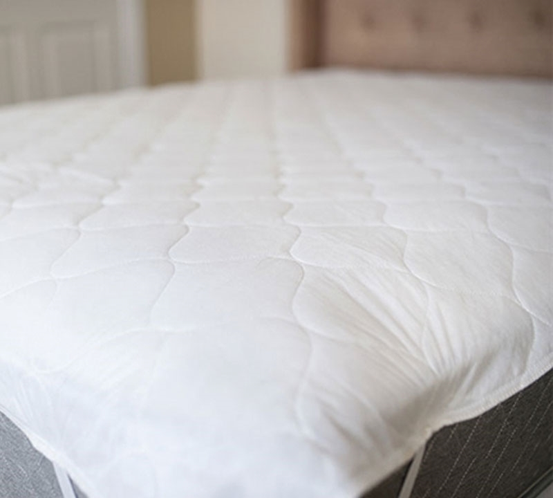 Queen Mattress Pad Protector with Sheet Topper Fitted Twin Full King Bedding