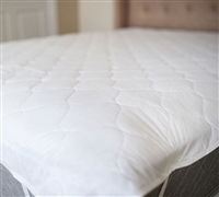 King Size Mattress Pads - Classic Anchor Band Bedding Pads in King