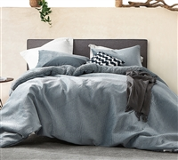 Embossy - Coma Inducer Oversized Comforter - Cinder Gray