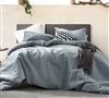 Embossy - Coma Inducer Oversized Queen Comforter - Cinder Gray