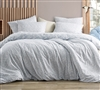 Saltwater Navy - Jacquard Oversized Twin Comforter