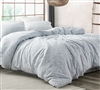 Saltwater Navy - Jacquard Oversized Queen Duvet Cover