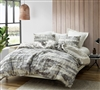 Oversized Twin XL Duvet Cover to Fit Twin or Twin XL Bed in Stylish Neutral Design and Soft Cotton