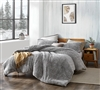 Coma Inducer Oversized Comforter - Two Tone Limited Release - Plum Gray Kitten