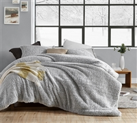 Coma Inducer Oversized Twin Comforter - Two Tone Limited Release - Wrought Iron