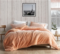 Coma Inducer Oversized Full Comforter - Two Tone Limited Release - Orange Popsicle