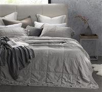 Leixoes Textura - 200TC Percale Stone Wash Queen XL Quilt super soft bedding comforters quilt