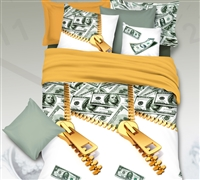 Cash Money Bling Full Comforter