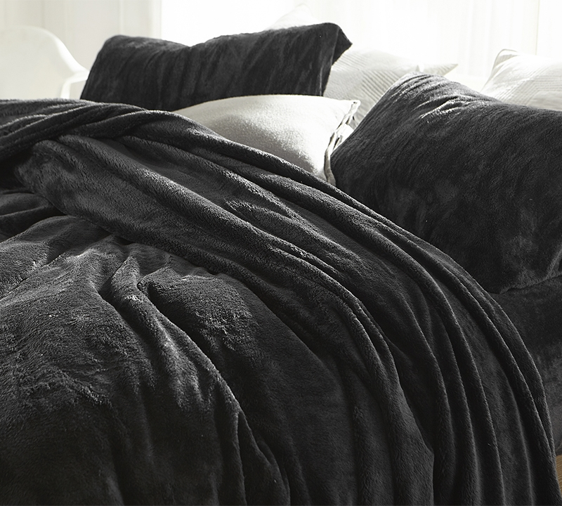 Plush And Cozy Me Sooo Comfy Twin Xl Faded Black Sheets True Extra Long Soft