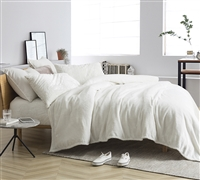 Me Sooo Comfy® King Sheet Set - Farmhouse White