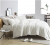 Me Sooo Comfy® Queen Sheet Set - Farmhouse White
