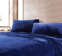 Comfortable Soft Sheets - Me Sooo Comfy Full Sheets - Navy - Great For Decor