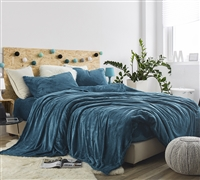 Me Sooo Comfy® Twin XL Sheet Set - Ocean Depths Teal