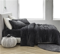 Me Sooo Comfy Full XL Sheet Set - Pewter