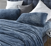 Extra Long Twin Bedding Essentials High Quality Me Sooo Comfy Twin XL Sheets in Smoke Blue