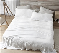 Me Sooo Comfy King Sheet Set - White