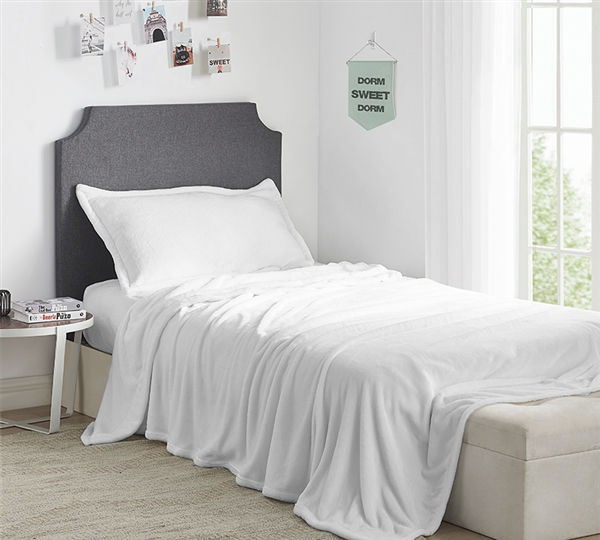 Me Sooo Comfy Twin XL Sheets - White