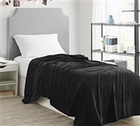 Me Sooo Comfy Twin XL Bedding Blanket - Black