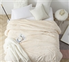 Me Sooo Comfy King Bedding Blanket - Ecru