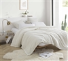 Me Sooo Comfy Twin XL Bedding Blanket - Farmhouse White