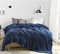Me Sooo Comfy Bedding Blanket - Nightfall Navy