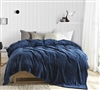 Me Sooo Comfy Twin XL Bedding Blanket - Nightfall Navy