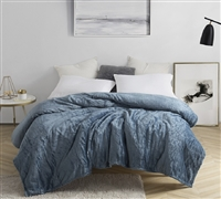 Me Sooo Comfy Bedding Blanket - Smoke Blue