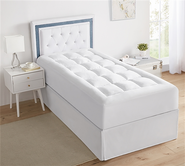 The Mega-Thick Mattress Pad Topper - Twin XL