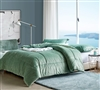 Cuz I'm Cozy - Coma Inducer Oversized Twin Comforter - Olive Pine Green