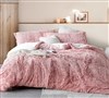 Are You Kidding - Coma Inducer Oversized Twin Comforter - Frosted Adobe Brick