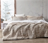 Are You Kidding - Coma Inducer Oversized Queen Comforter - Frosted Clay Taupe