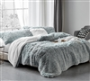 Are You Kidding - Coma Inducer Oversized Twin Comforter - Frosted Navy Gray